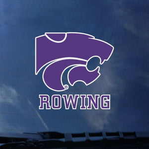 Kansas State Wildcats Rowing Color Shock Decal - 2007888