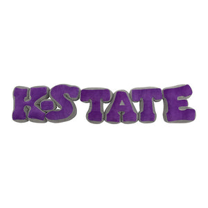 Kansas State Wildcats Plush K-State Letters - 2007918