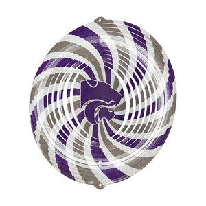"Kansas State Wildcats 12"" Swirly Wind Decor - 2007944"