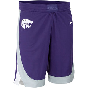 Kansas State Wildcats Nike Replica Basketball Shorts - 2007946