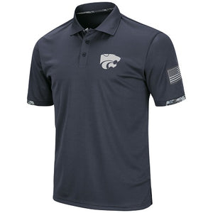 Kansas State Wildcats Operation Hat Trick Digital Camo Polo - 2007948