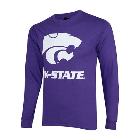 Kansas State Wildcats Hanes Tagless Long Sleeve T-Shirt - 2007958