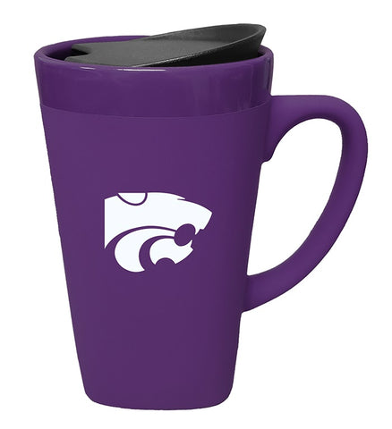 Kansas State Wildcats 16oz Soft Touch Ceramic Mug - 2007968