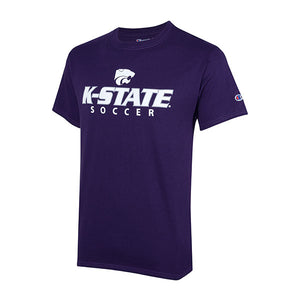 Kansas State Wildcats Champion Cotton Short Sleeve Soccer T-Shirt - 2007983