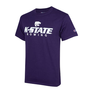 Kansas State Wildcats Champion Cotton Short Sleeve Rowing T-Shirt - 2007986