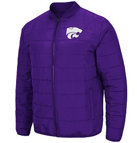 Kansas State Wildcats Holt Packable Men's Poly-fill Jacket - 2008005