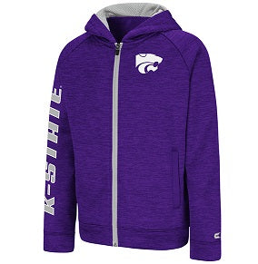 Kansas State Wildcats Youth Statler Full Zip Fleece - 2008013