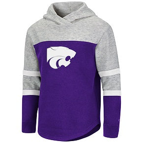 Kansas State Wildcats Girls Pepe Fleece Hoodie - 2008018