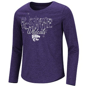 Kansas State Wildcats Girls Center Stage Long Sleeve T-Shirt - 2008022
