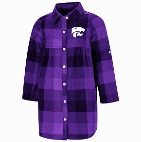 Kansas State Wildcats Toddler Girls Scooter Dress - 2008026