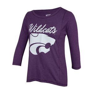 Kansas State Wildcats Ladies Long Sleeve Majestic Tour Tee - 2008045