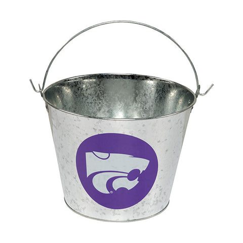 Kansas State Wildcats 5QT Galvanized Bucket - 2008055