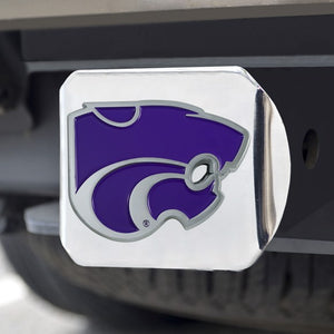 Kansas State Wildcats Chrome Hitch Cover - 2008064