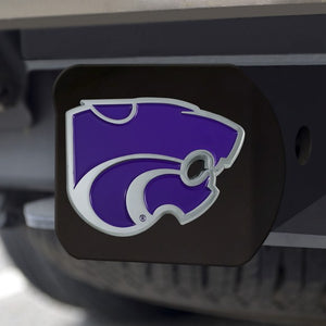 Kansas State Wildcats Black & Purple Hitch Cover - 2008065