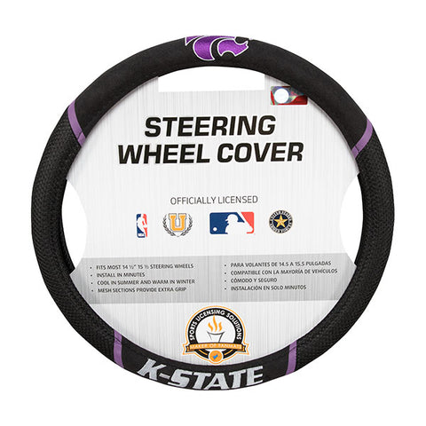 Kansas State Wildcats Steering Wheel Cover - 2008067