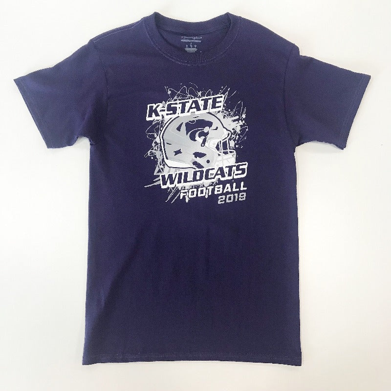 Kansas State Wildcats 2019 Football Schedule T-Shirt - 2008075