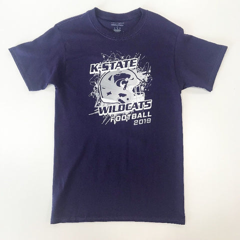 Kansas State Wildcats Champion 2019 Football Schedule T-Shirt - 2008075