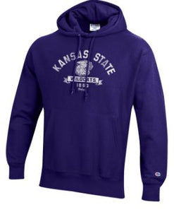 Kansas State Wildcats Wabash Collection Champion Reverse Weave Hoodie - 2008090