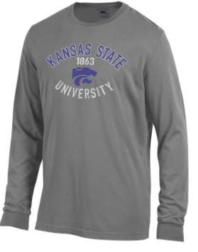 Kansas State Wildcats Outta Town Long Sleeve T-Shirt - 2008092