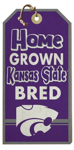 Kansas State Wildcats Home Grown Hang Tag Sign - 2008109