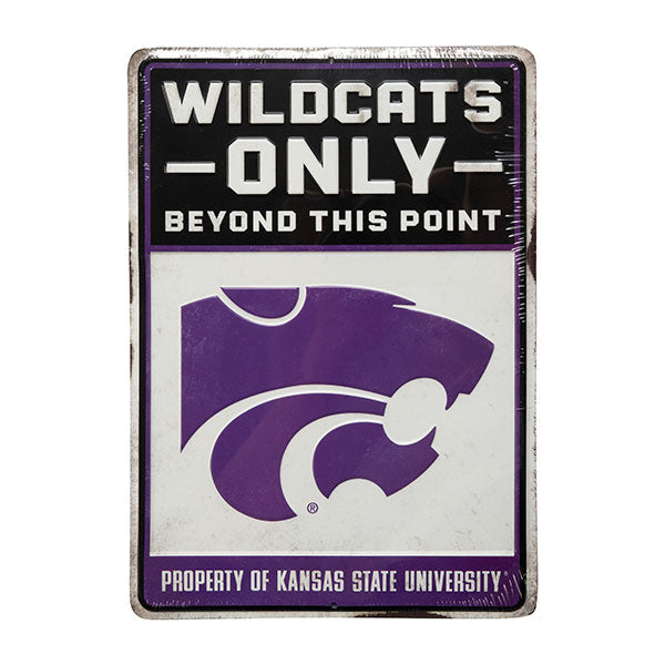 Kansas State Wildcats Metal Sign - 2008115