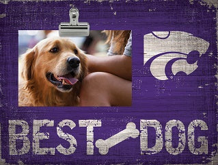 Kansas State Wildcats Best Dog Clip Photo Frame - 2008124