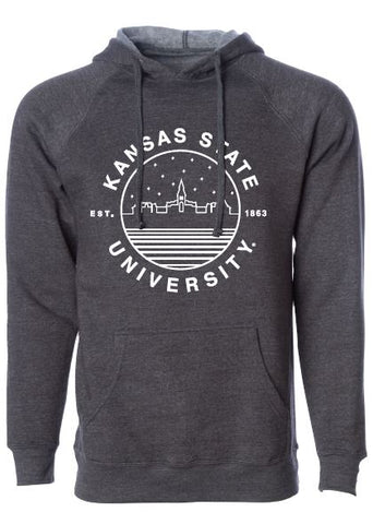 Kansas State Wildcats Uscape Scenic Circle Deluxe Hoodie - 2008145