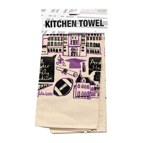Kansas State Wildcats Julia Gash Artist Kitchen Towel - 2008195