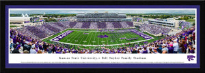 Kansas State Wildcats Football Select Framed Panoramic Print - 2008213
