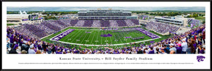Kansas State Wildcats Football Standard Framed Panoramic Print - 2008214