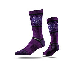 Kansas State Wildcats Strideline Youth Crew Socks - 2008235