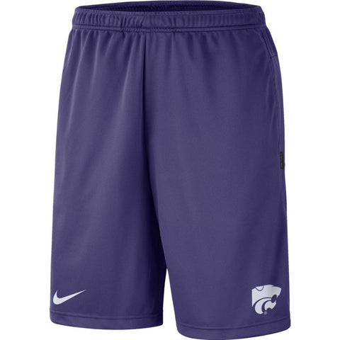 Kansas State Wildcats Nike Purple Dry Coaches Short - 2008240