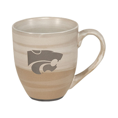 Kansas State Wildcats 16oz Earth Tones Ceramic Mug - 2008257