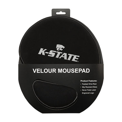 Kansas State Wildcats Ergonomic Velour Mousepad - 2008260