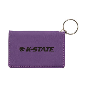 Kansas State Wildcats Purple Velour ID Holder - 2008261