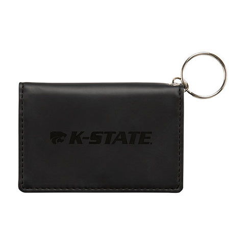 Kansas State Wildcats Black Velour ID Holder - 2008262