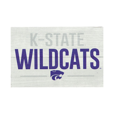 Kansas State Wildcats Small Rectangle Block - 2008287