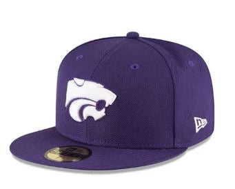 Kansas State Wildcats New Era 5950 Fitted Purple Hat - 2008301