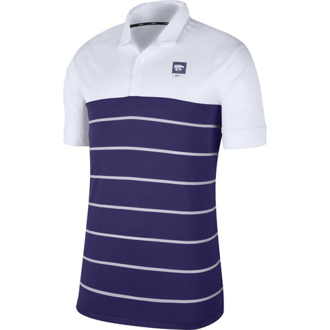 Kansas State Wildcats Nike Striped Polo - 2008315
