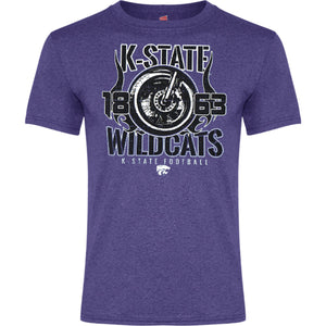 Kansas State Wildcats Oswald Motorcycle T-Shirt - 2008340