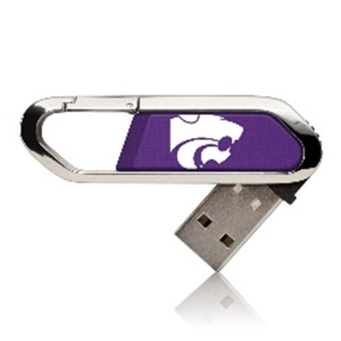 Kansas State Wildcats Solid USB 16GB Clip Style Flash Drive - 2008350