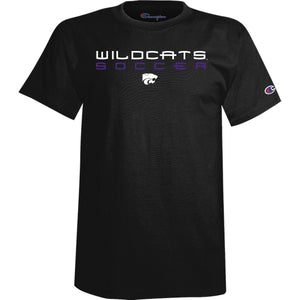 Kansas State Wildcats Champion Black Soccer T-Shirt - 2008355