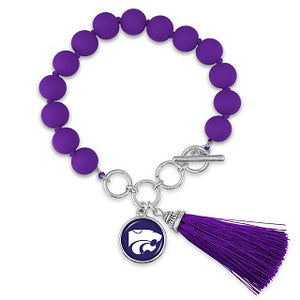 Kansas State Wildcats No Strings Attached Bracelet - 2008429
