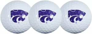 Kansas State Wildcats 3 Pack Golf Balls - 2008444