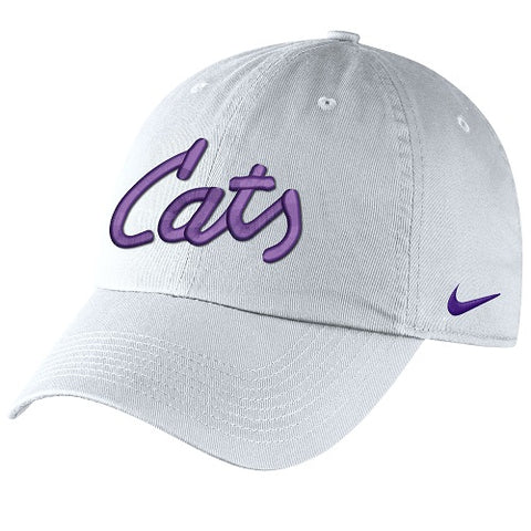 Kansas State Wildcats Nike Cats White Campus Cap - 2008473