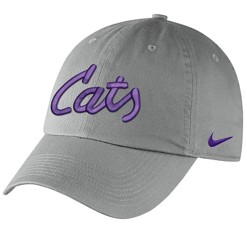 Kansas State Wildcats Nike Cats Grey Campus Cap - 2008474