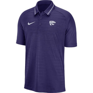 Kansas State Wildcats Nike Men's Purple Stripe Polo - 2008513