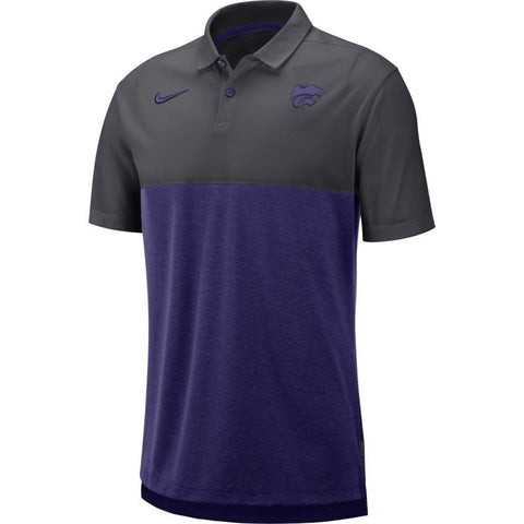 Kansas State Wildcats Nike 2019 Early Season Breathe 2 Polo - 2008514