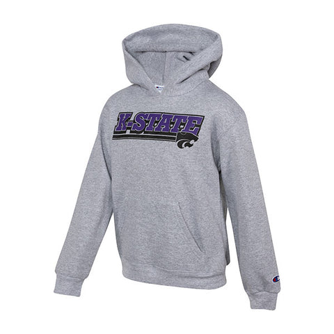 Kansas State Wildcats Champion Powerblend Youth Hoodie - 2008533