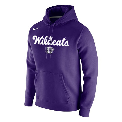 K-State Nike Wildcats Script Purple Club Hoody - 2008540